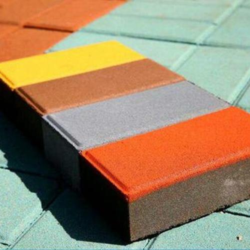璧山彩色透水砖