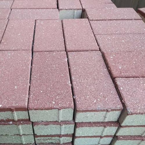 仿石材透水砖