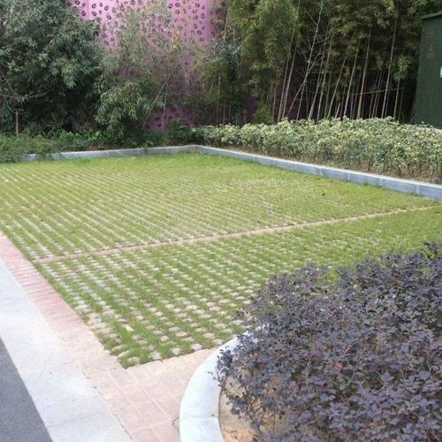小区生态砖安装施工